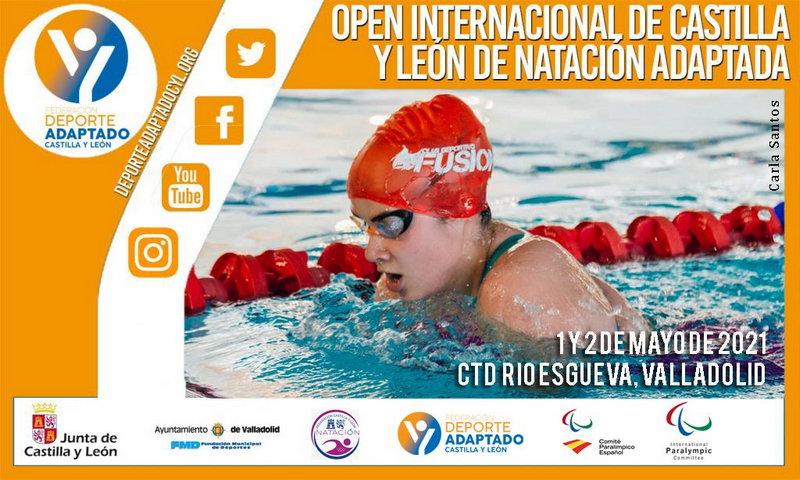 El Nadador del Villa de Navia Alejandro Suárez, al IX Open Internacional de Natación Adaptada de Castilla-León