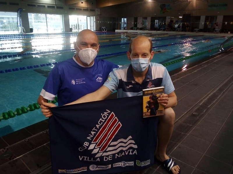 Histórico debut del Villa de Navia en la disciplina de Natación Adaptada con el Nadador Alejandro Suárez