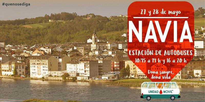 113 Donaciones de Sangre en las últimas Extracciones realizadas en Navia y Puerto de Vega