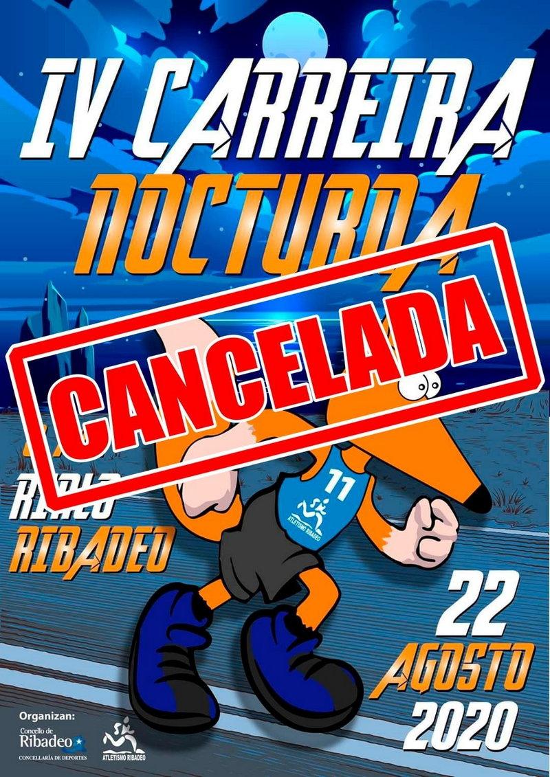 Cancelada la IV Carrera Nocturna Rinlo-Ribadeo