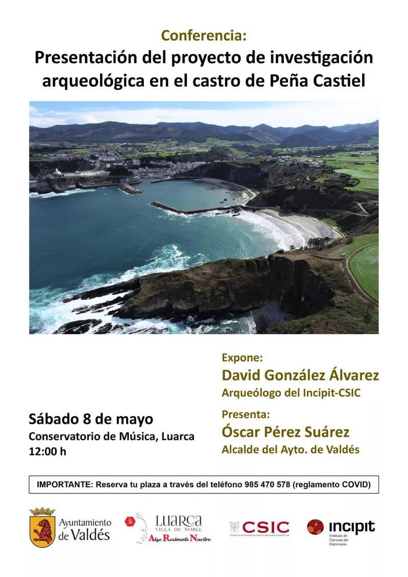 Proyecto de investigación arqueológica en el castro de Peña Castiel (Valdés)