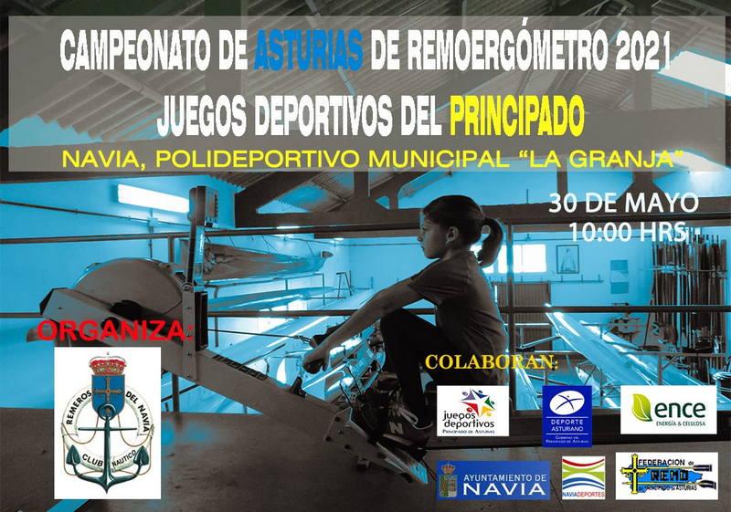 Navia acoge el Campeonato de Asturias de Remoergómetro de los Juegos Deportivos