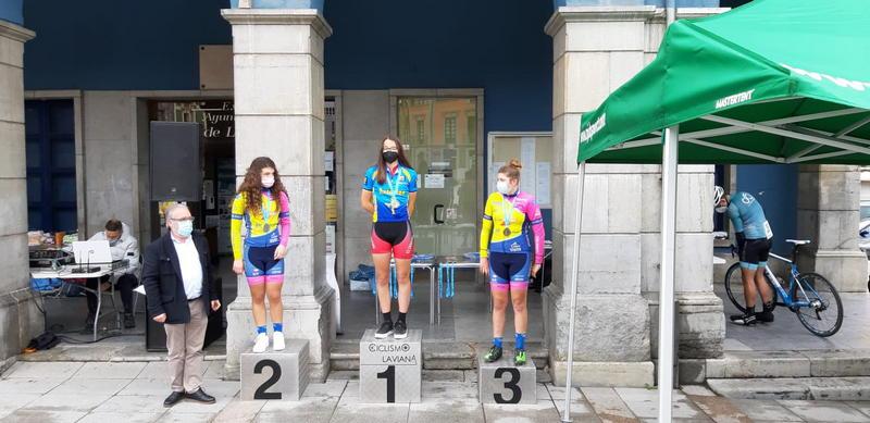 Carla Suárez (Escuela Ciclista Coque Uría), Campeona de Asturias CRI (Contrarreloj Individual)