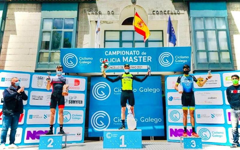 El corredor luarqués Pablo García, Subcampeón de Asturias máster 30 de Cronoescalada