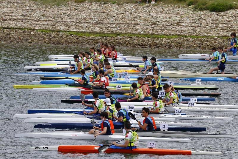 Diez medallas para el Club Piragüismo Altruán de Ribadeo en el Campeonato Provincial