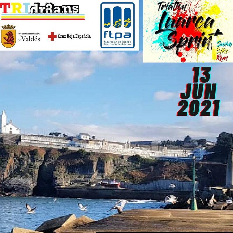 Luarca acoge el domingo el Campeonato de Asturias de Triatlón Sprint sin presencia de público