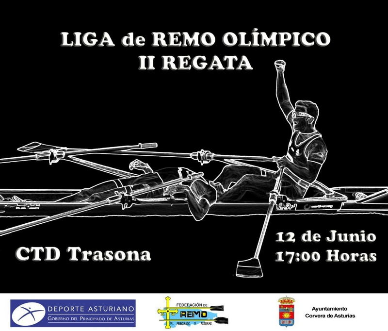 II Regata de la Liga Autonómica de Remo Olímpico (Campeonato de Asturias) este sábado en Trasona