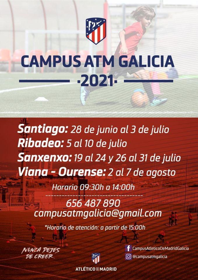 Ribadeo acogerá del 5 al 10 de julio el Campus del Atlético de Madrid