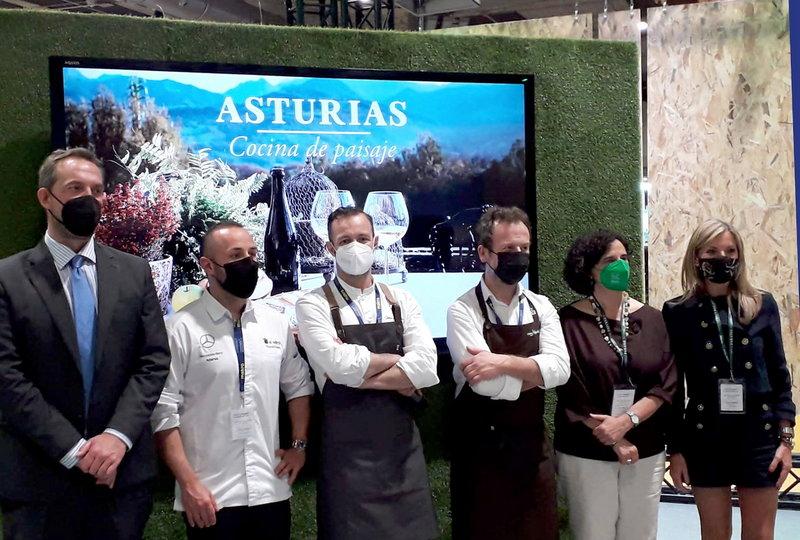El Principado estrena el programa de su estand en Madrid Fusión de la mano de sus Estrellas Michelin