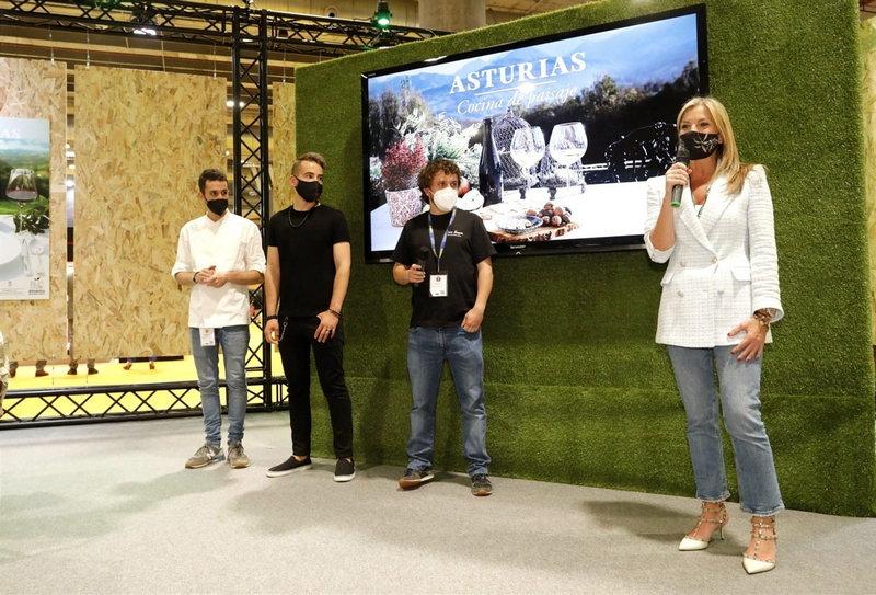 El Principado cierra su participación en Madrid Fusión con una demostración de jóvenes talentos de la cocina asturiana