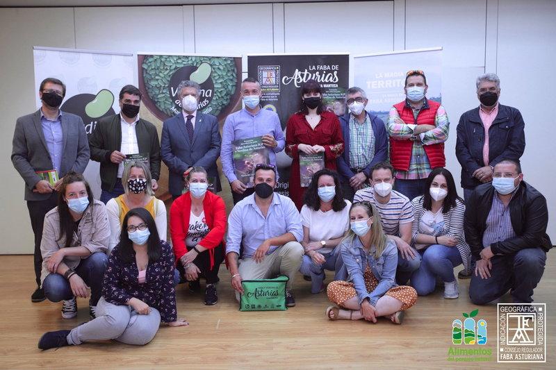 Clausura del curso de formación Cultivo de faba Asturiana IGP impartido en Navia