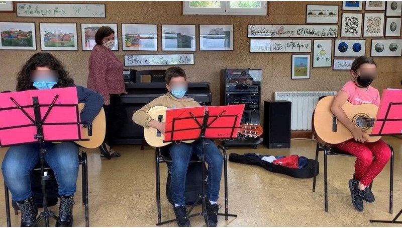 Balance positivo del curso 2020/2021 en la Escuela Municipal de Música de Coaña