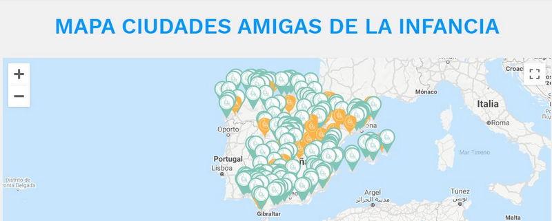 Media docena de concejos del Occidente se incorporan a la Red de Ciudades Amigas de la Infancia (UNICEF)