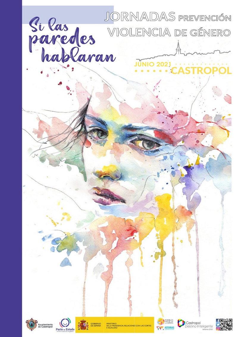 """Jornadas """"Si las paredes hablaran"""" en Castropol, de prevención de la violencia de género"""