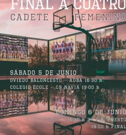 El CB Navia Cadete Femenino disputará este fin de semana la Final a 4 de la Copa Asturias