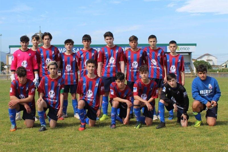 El Andés cadete B vence al Covadonga y se mete en Cuartos del Torneo Federación