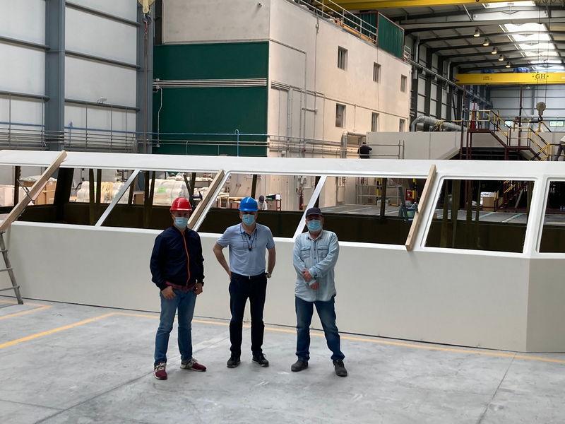 Últimas plazas para el Curso de Fabricación y Mantenimiento de Embarcaciones de Fibra del CIFP Porta da Auga y Astilleros Gondán