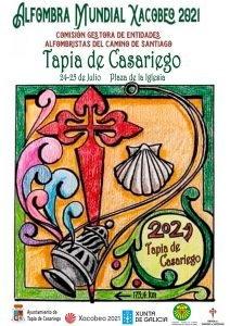 La Alfombra Mundial Xacobeo 21-22 se podrá ver los días 24 y 25 de julio en Castropol o Tapia de Casariego