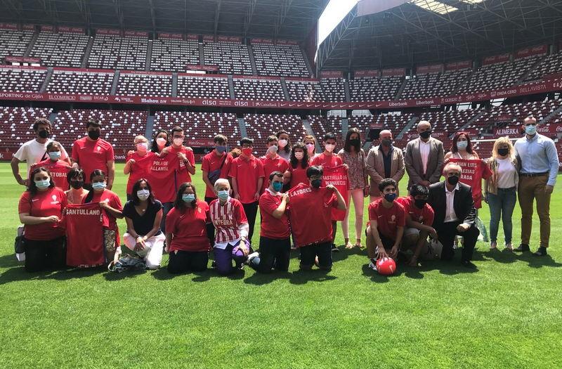 Convenio de colaboración entre la Administración del Principado y la Fundación Escuela de Mareo-Real Sporting de Gijón para la promoción de la inclusión del alumnado con discapacidad intelectual