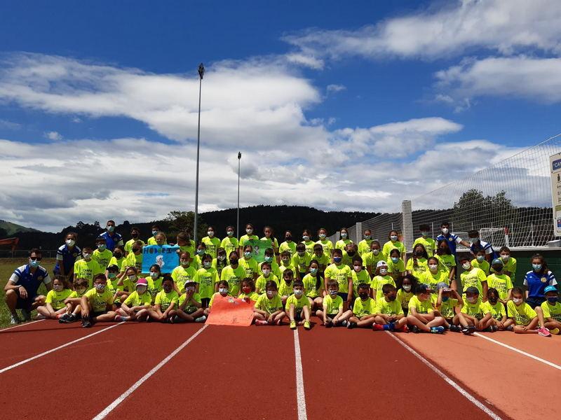 Finaliza el primer turno del VI Campus de Verano del Club Atletismo Occidente