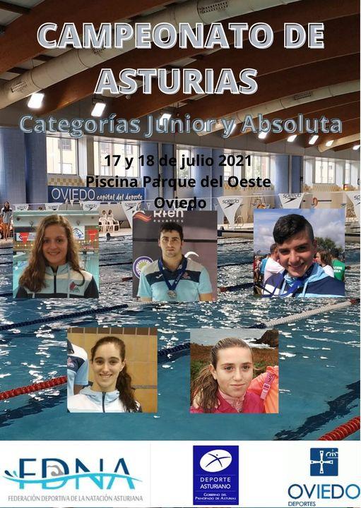 Cinco nadadores del Villa de Navia competirán en el Autonómico Junior y Absoluto