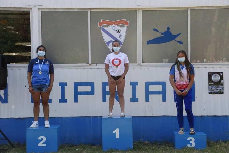 Ocho medallas (Seis de Oro), para el Club Piragüismo Altruan en la Copa Diputación de Lugo
