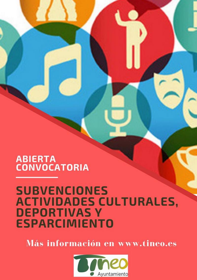 El Ayuntamiento de Tineo convoca ayudas a entidades que realicen actividades culturales, deportivas y de esparcimiento.