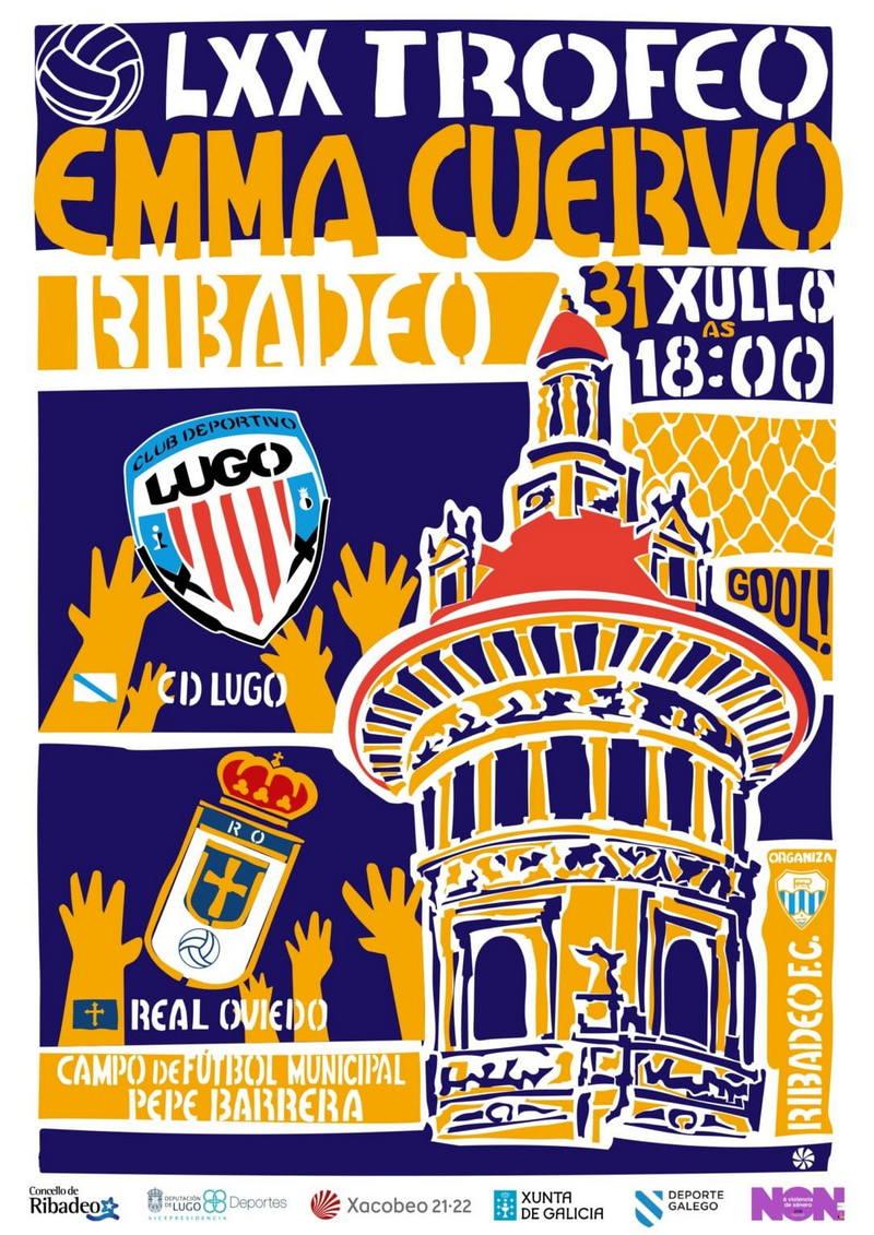 Venta de Entradas para el LXX Trofeo Emma Cuervo de Ribadeo del próximo Sábado
