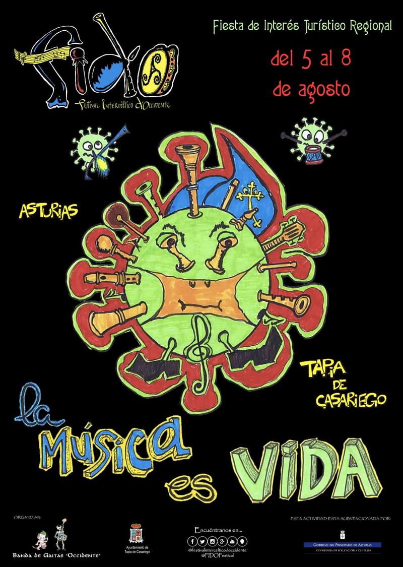 El FIDO (Festival Intercéltico d´Occidente) vuelve a Tapia del 5 al 8 de agosto