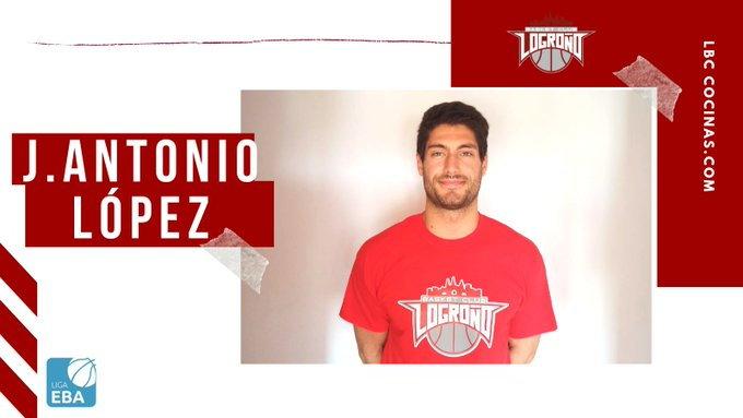El alero naviego José Antonio López se incorpora al Basket Club Logroño de Liga EBA