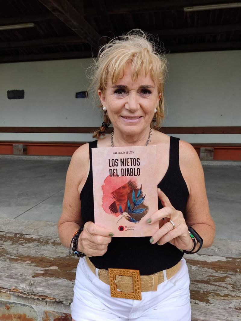 """Ana García de Loza: """"Al escribir esta novela, mi objetivo era redimir al abuelo"""""""