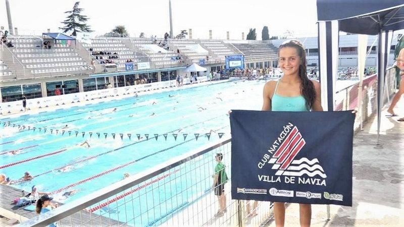 Laura Pérez (nadadora del Villa de Navia) clasificada para el Campeonato Nacional Junior