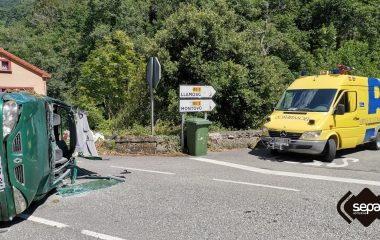 Dos Personas Heridas en un Accidente de Tráfico en Belmonte
