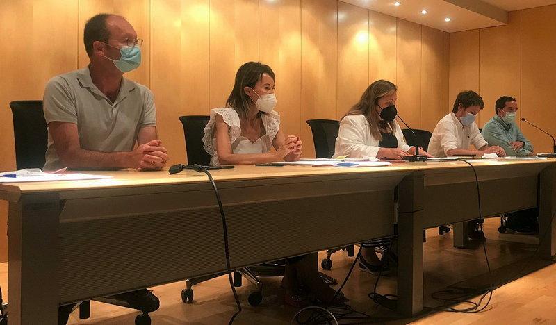 """Lydia Espina (consejera Educación): """"nuestros centros son doblemente seguros"""""""