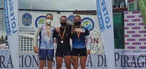 Tres platas para Lucía Val (Club Albiones), en el Campeonato de España de Sprint Olímpico de Piragüismo