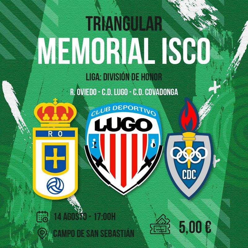 VIII Memorial Isco de Fútbol de División de Honor Juvenil en Barcia