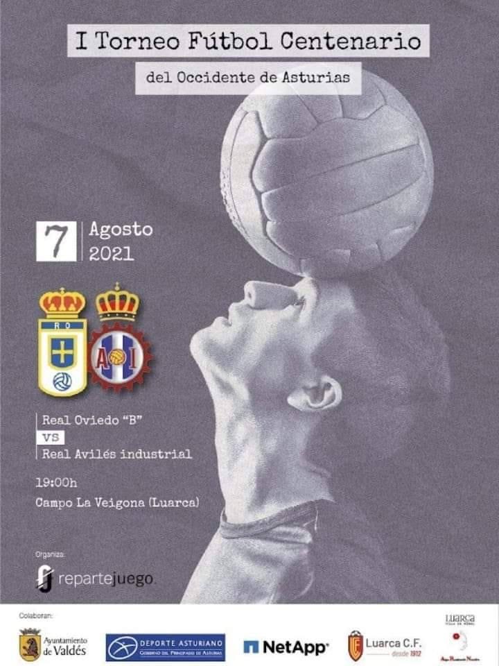 Oviedo Vetusta-Real Avilés en el I Torneo Fútbol Centenario del Occidente que se disputa este sábado en Luarca