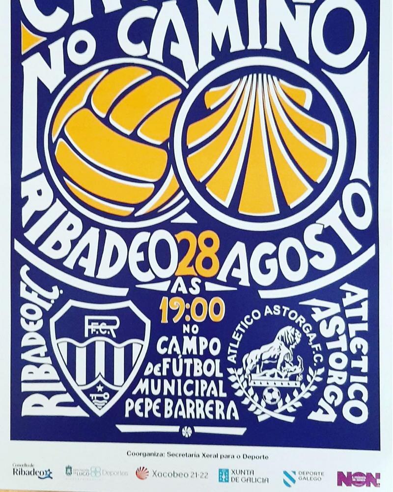 """I Trofeo de Fútbol """"Encontros no Camiño"""" en el Pepe Barrera de Ribadeo"""