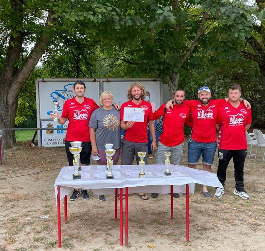 La Cantera (Villayón), tercero en el Campeonato de España de Bolo Celta