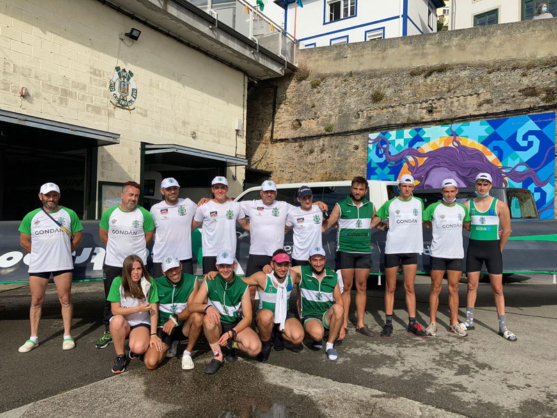 El CR Cedeira se impuso en la XXXIII Bandera Princesa de Asturias de Traineras disputada en Castropol