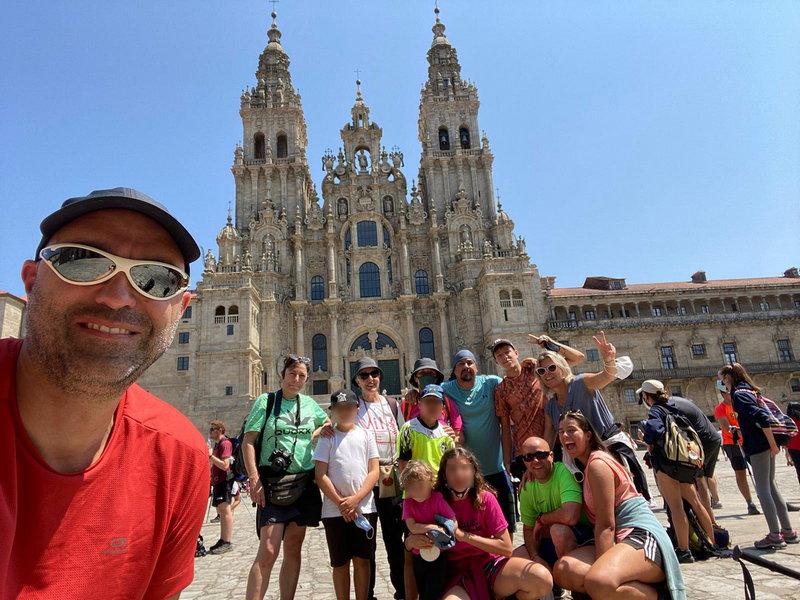 """Hacer el Camino de Santiago en familia, una experiencia """"para repetir"""""""