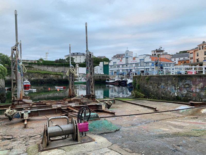 """Adolfo García (Patrón Mayor): """"el carro de varada de Puerto de Vega es uno de los más utilizados en Asturias"""""""