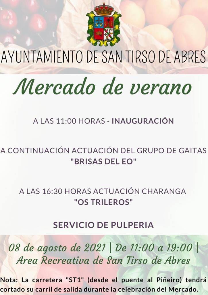 Primer Mercado de Verano en San Tirso de Abres
