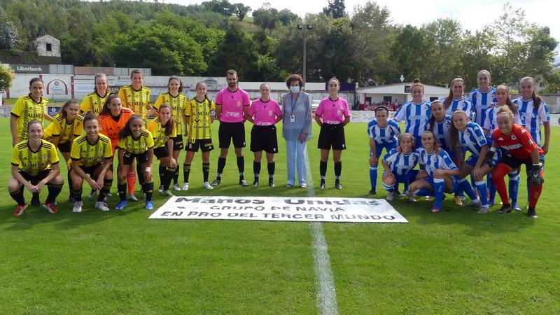 El Real Oviedo Femenino Campeón del Trofeo Manos Unidas de Navia