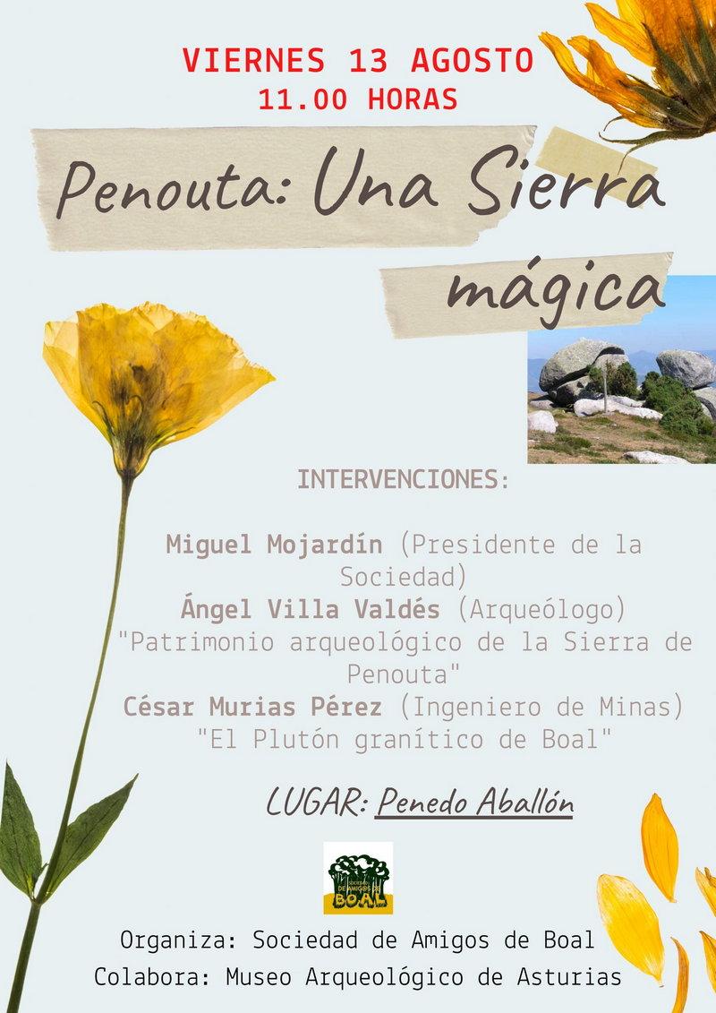 "Jornada ""Penouta, una sierra mágica"" junto al Penedo Aballón (Boal)"