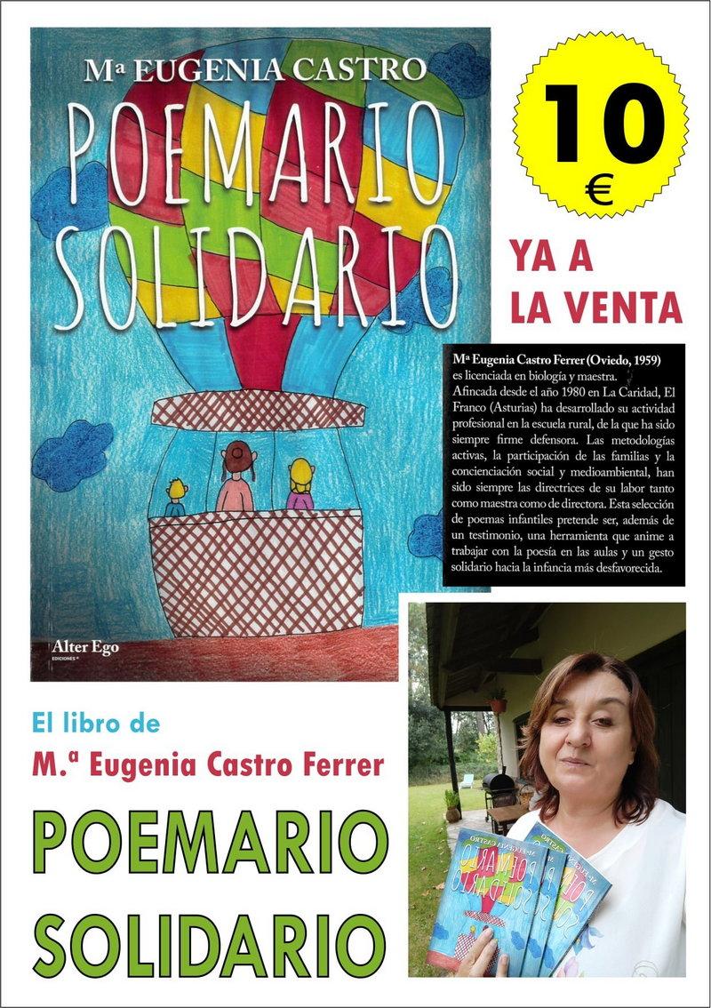 """M. Eugenia Castro (Poemario Solidario): """"me gustaría que se hicieran lecturas compartidas"""" de la obra"""