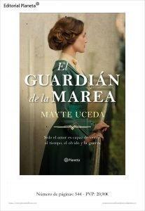 """Mayte Uceda, autora """"El guardián de la marea"""": """"es emocionante poder compartir lecturas con los bibliotecarios/as"""""""