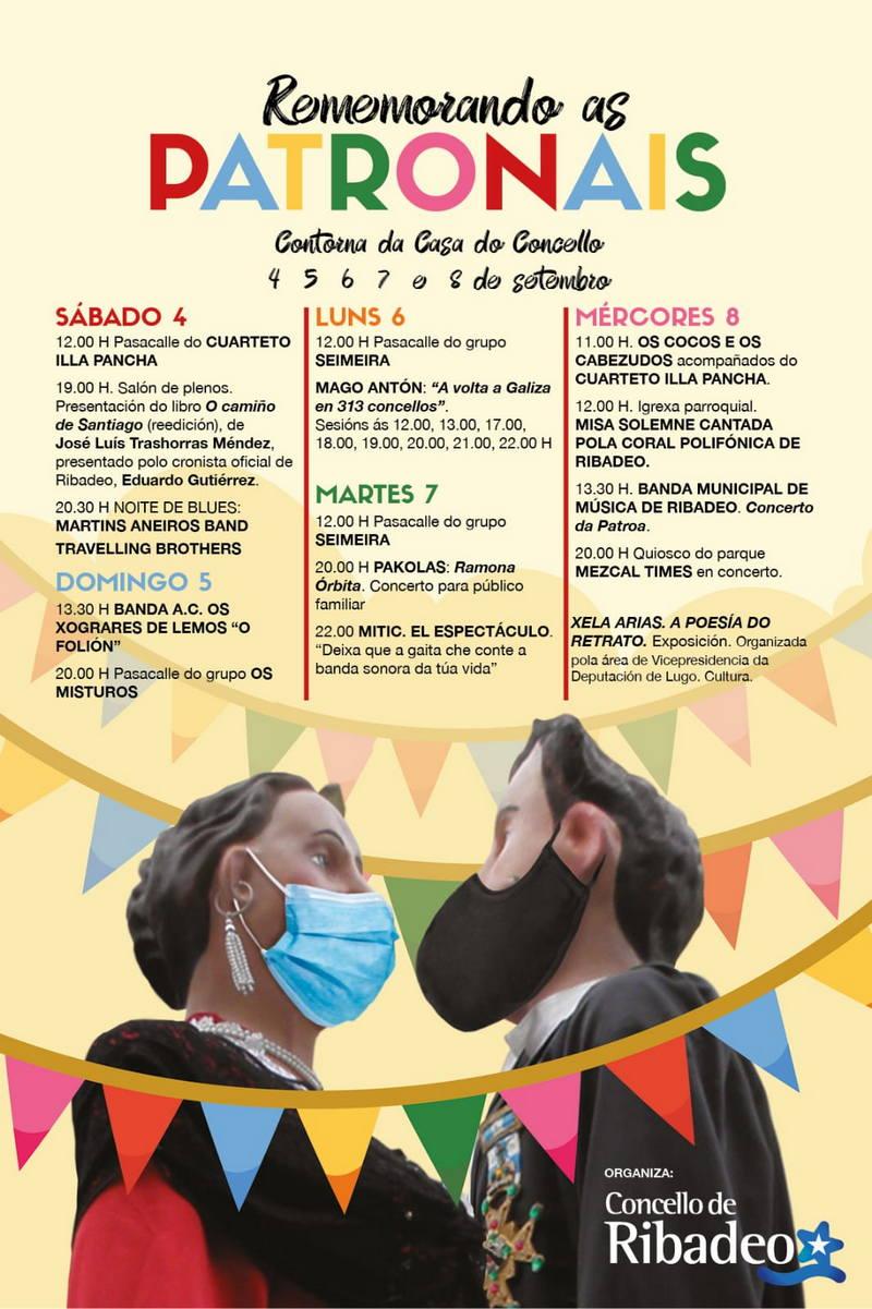 La concejalía de Cultura de Ribadeo presenta el programa de actividades recordando las fiestas patronales