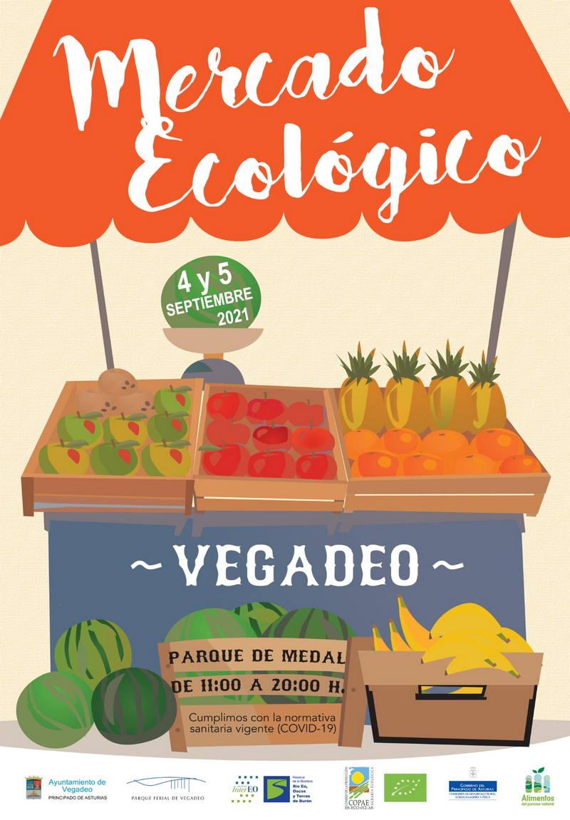 Todo preparado para celebrar el Mercado Ecológico ECO-21 de Vegadeo