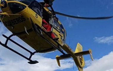 Rescate de Montaña de una Senderista en Cangas de Onís